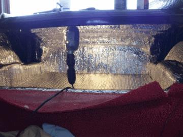 шумоизоляция багажника 2